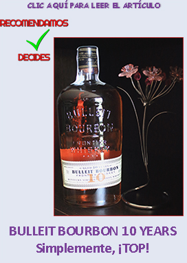 BULLEIT BOURBON 10 YEARS OLD :: VINOS Y LICOLES